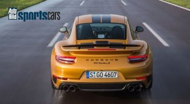 Porsche 911 Turbo S Exclusive Series, 333 kmheure sur l'Autobahn !