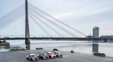 Riga, le terrain de jeu des Audi RX