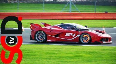 Ferrari à Silverstone, classé XX !