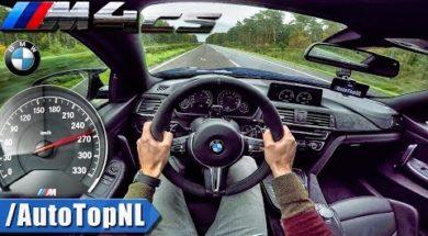 L'Autobahn en BMW M4 CS