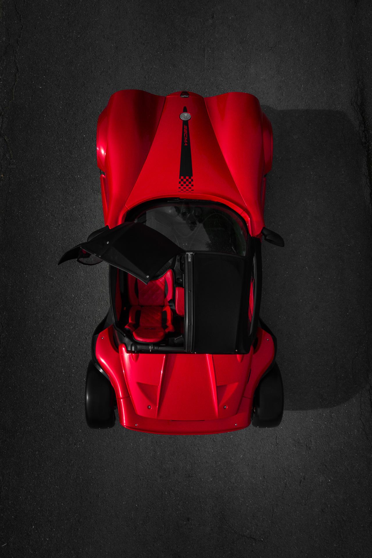 Le F16 Turbo, l'engin diabolique créé par SECMA