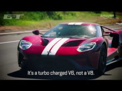 The Grand Tour, Clarkson au volant de la Ford GT