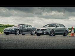 Top Gear face-à-face Tesla Model S P100D – Mercedes-AMG E63 S