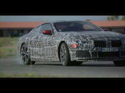 La prochaine BMW série 8 se montre pleine de dynamisme