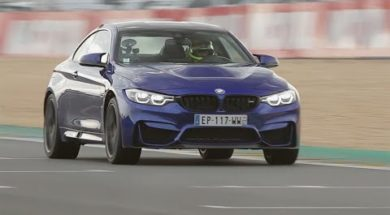 Supertest BMW M4 CS par le magazine Sport Auto