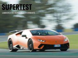 Supertest Lamborghini Huracán Performante par le magazine Sport Auto
