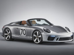 Porsche célèbre ses 70 ans avec le 911 Speedster concept