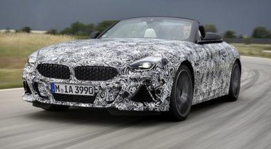 Premiers tours de roue de la BMW Z4