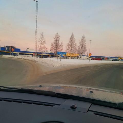 Enfin en Finlande