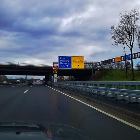 Sur les autoroutes allemandes