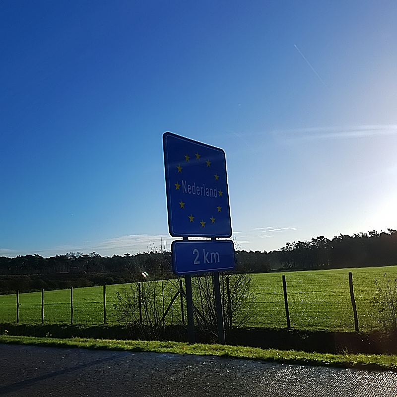 Frontière des Pays-Bas