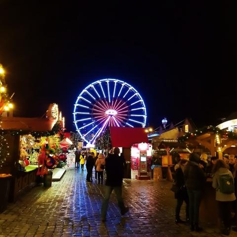 La grande roue de Rostock