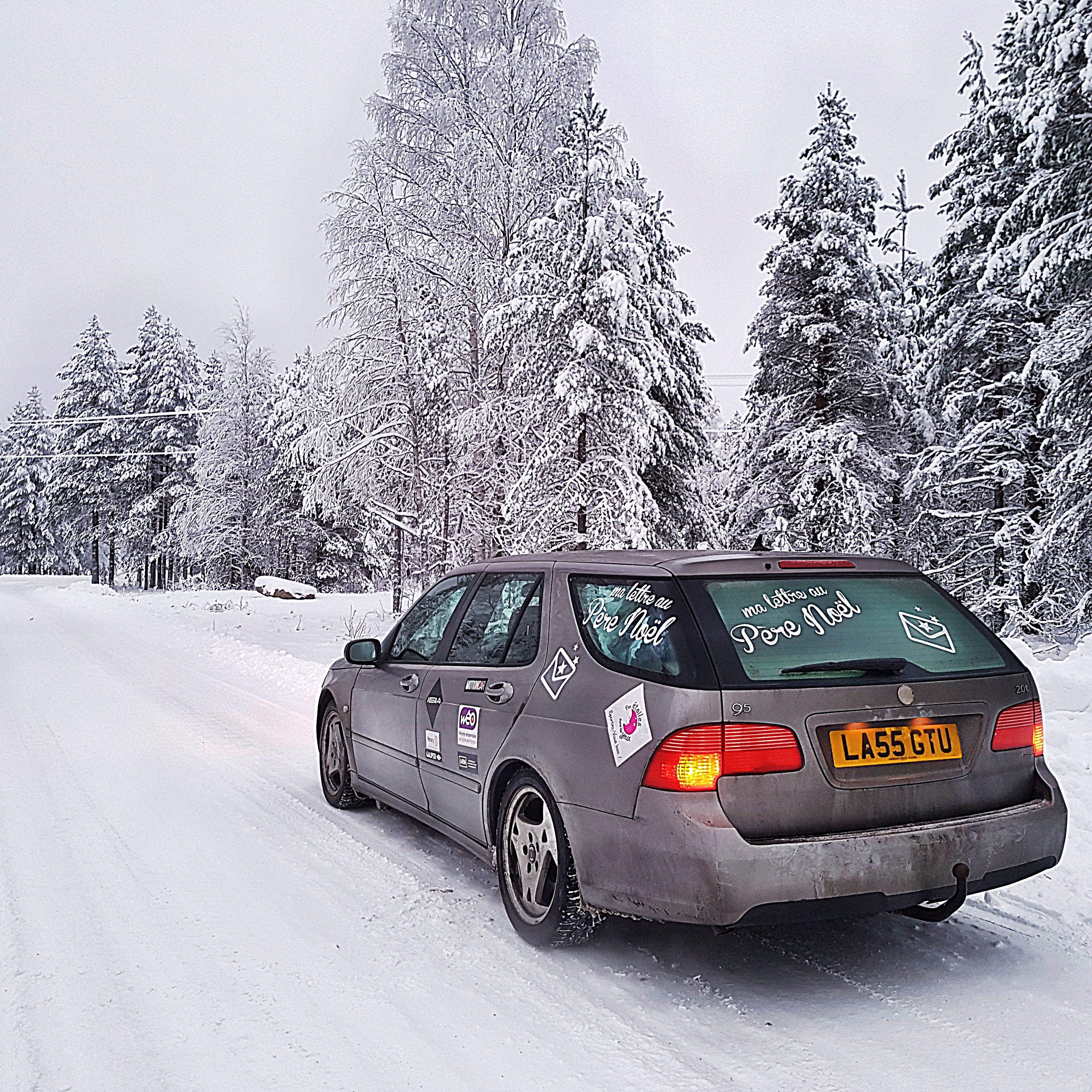 Notre SAAB est à Rovaniemi