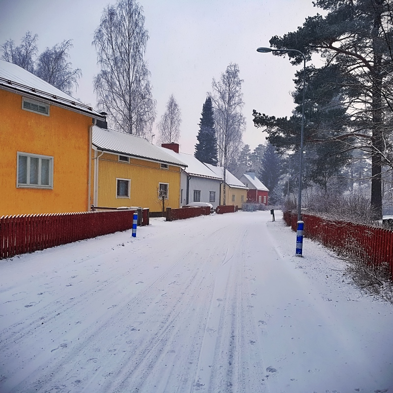 Paysage urbain finlandais