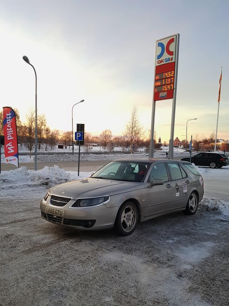 Premier arrête en Finlande