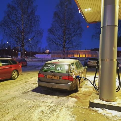 Dernière station avant la Finlande