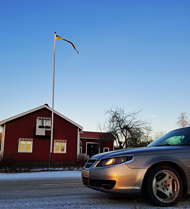 Notre Saab en Suède