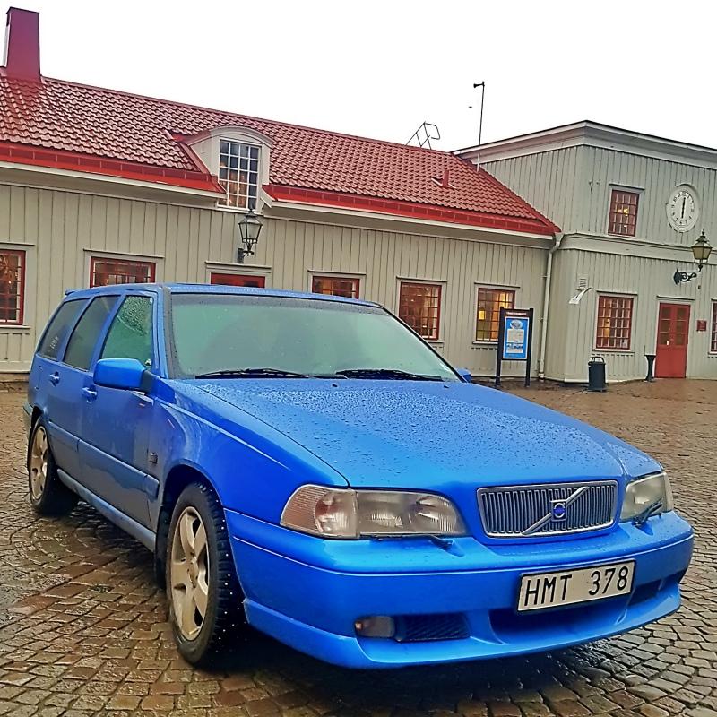 Roadtrip Lille - Rovaniemi Une suédoise devant le musée des allumettes