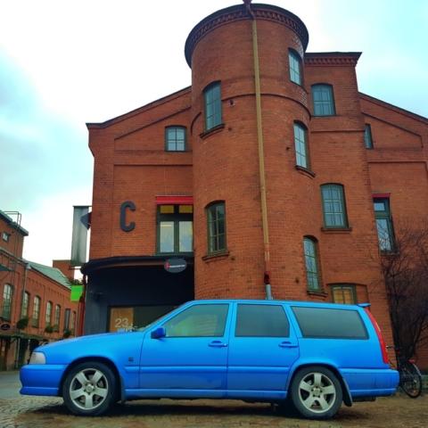 Une Volvo chez elle