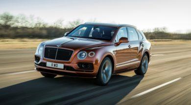 Le nouveau Bentley Bentayga Speed est le SUV de série le plus rapide du monde.