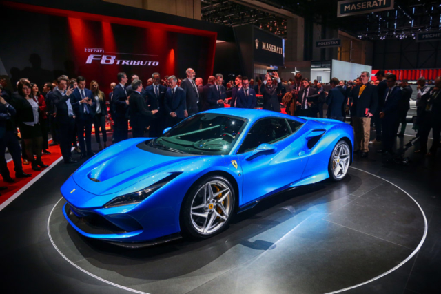 Ferrari F8 Tributo, la star du Salon de Genève 2019