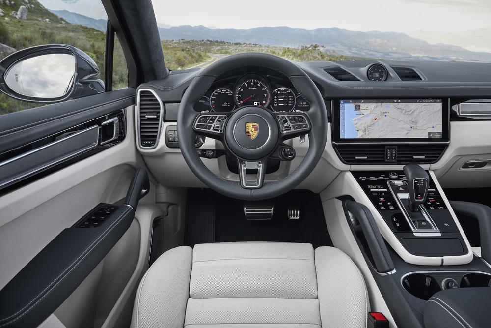Porsche Cayenne Coupé, un intérieur complet ou full options