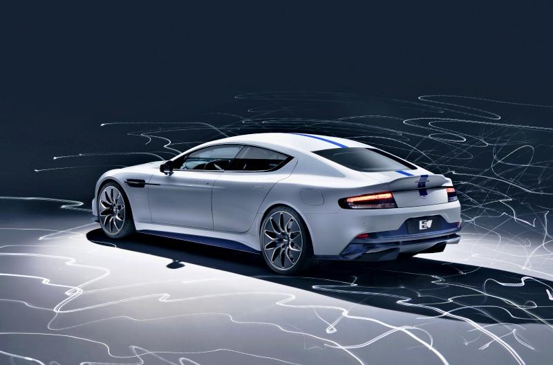 Aston Martin Rapide E, des lignes racées