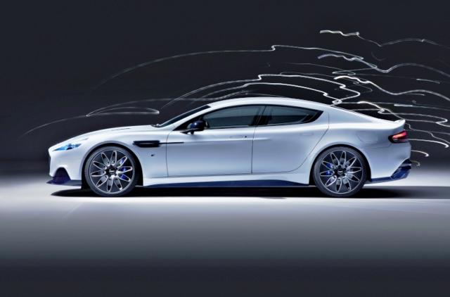Aston Martin Rapide E, toujours aussi élégante