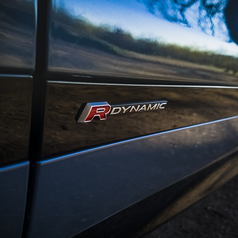 Range Rover Evoque sur un R Dynamic