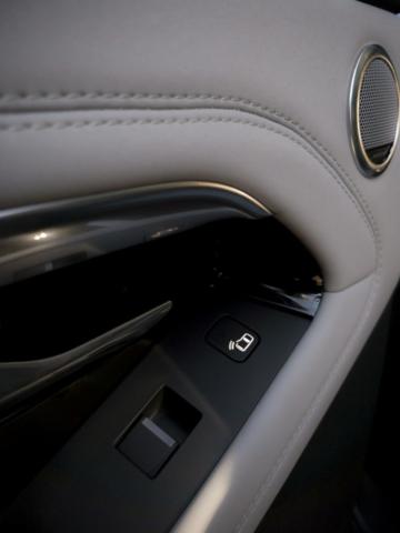 Range Rover Evoque détail porte arrière, poignée