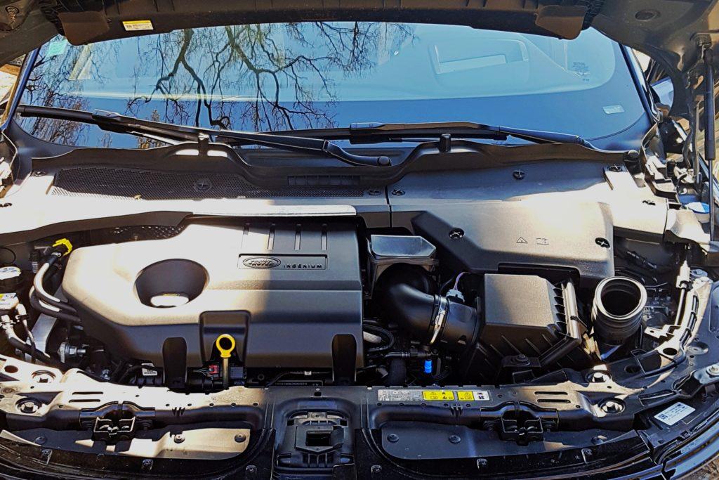 Range Rover Evoque moteur diesel 4 cylindres de 180 chevaux