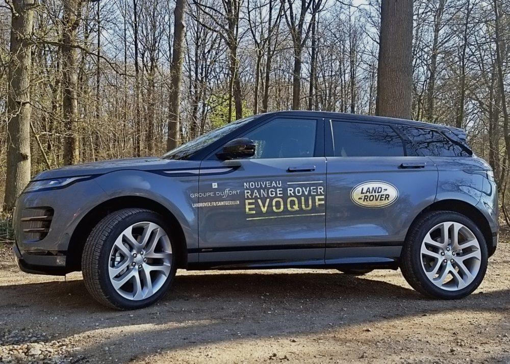 Range Rover Evoque, promenons-nous dans les bois