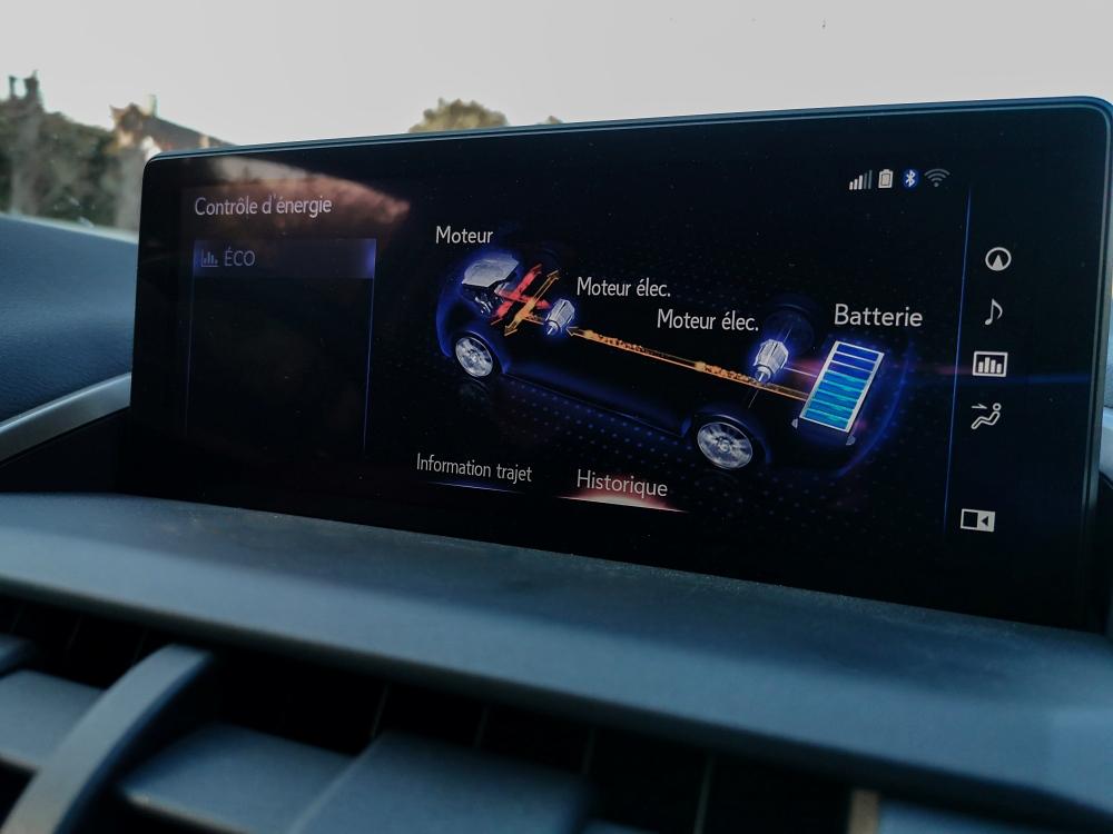Contrôleur de l'énergie - Lexus NX300H, Premium hybridus