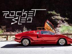 Lamborghini Countach 25ième Anniversaire en luge