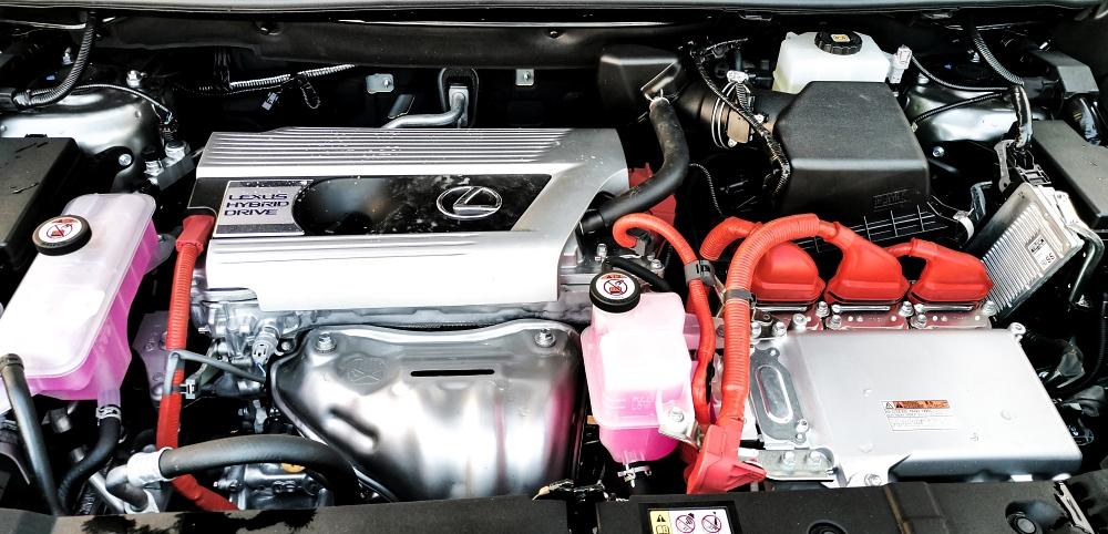 Moteur - Lexus NX300H, Premium hybridus