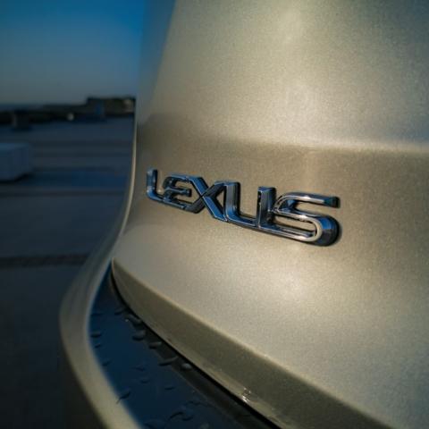 logo arrière au bord de mer - Lexus NX300H, Premium hybridus