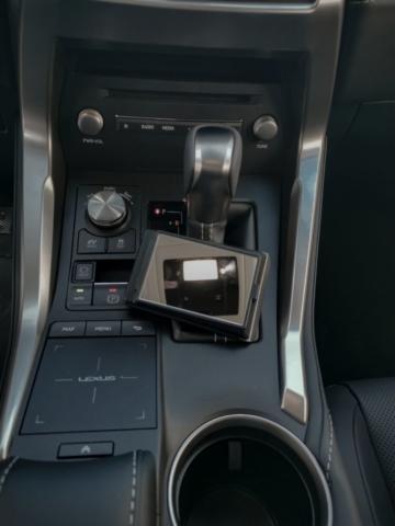 Par politesse, miroir de courtoisie supplémentaire - Lexus NX300H, Premium hybridus