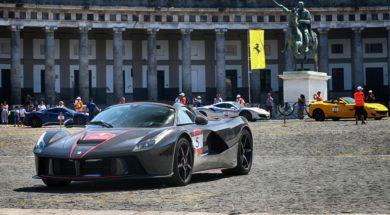 Ferrari Cavalcade 2019, Capri c'est fini