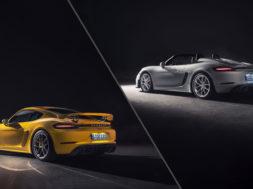 718 Spyder et 718 Cayman GT4, le retour aux sources de Porsche