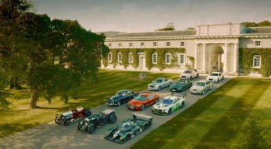 Bentley à Goodwood pour le centenaire la marque Happy Birthday!