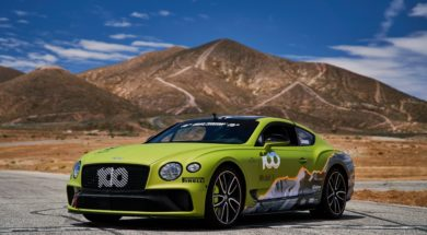Bentley à l'attaque de Pikes Peak avec sa Continental GT