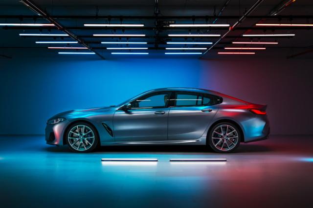 Série 8 Gran Coupé, BMW voit la vie en grand