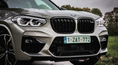 Face avant – BMW X3M Competition