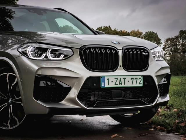 Face avant - BMW X3M Competition