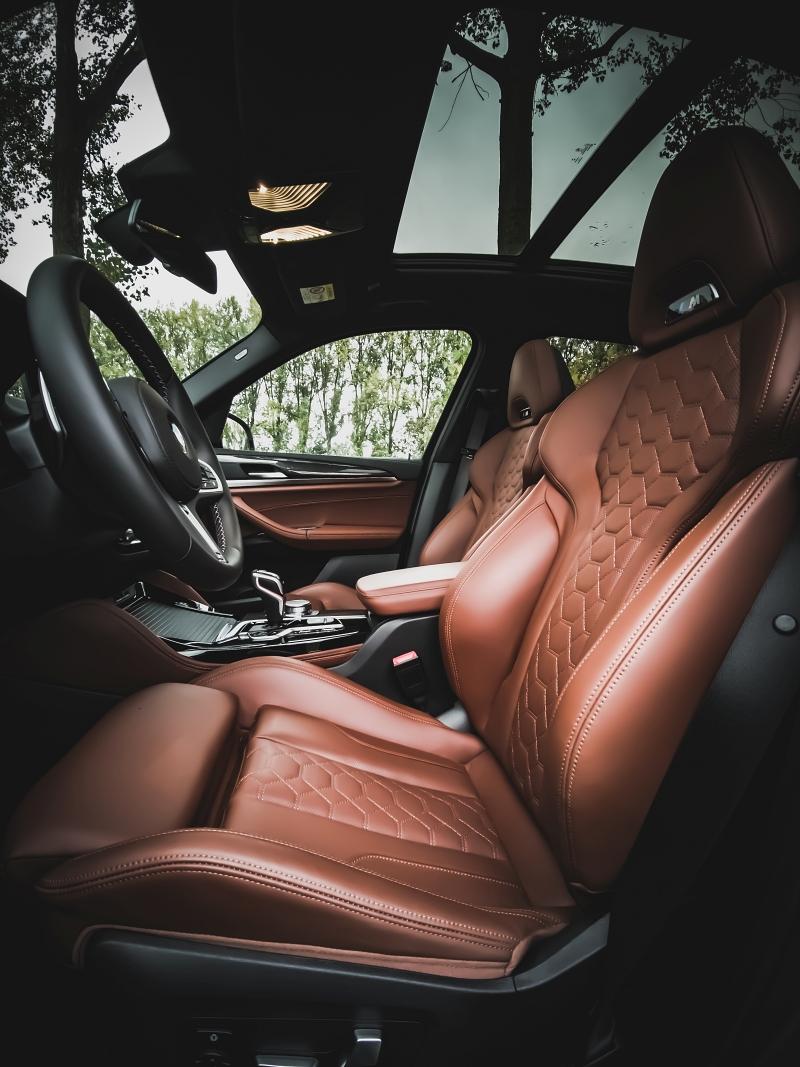 Sièges sport en cuir Merino - BMW X3M Competition