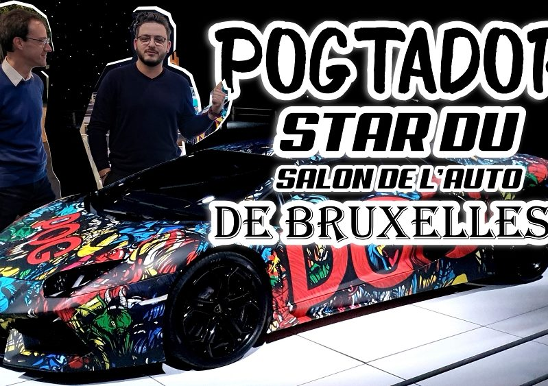 Motion Car – L'émission #3 : la Pogtador, star du salon de Bruxelles ?