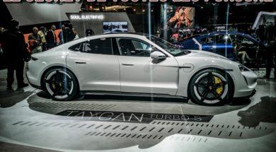 Porsche Taycan Turbo S – Autosalon de Bruxelles 2020 bandeau