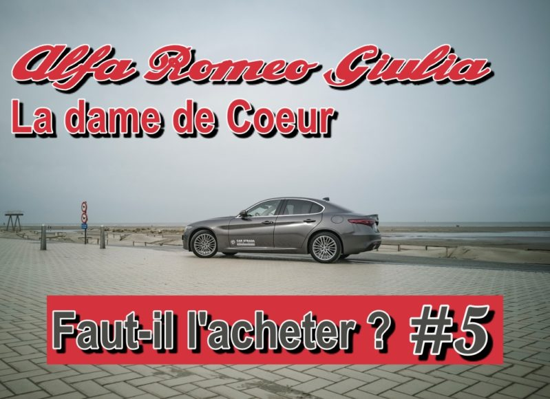 Motion Car – L'émission #5  – La dame de Cœur, faut il acheter la nouvelle Alfa Romeo Giulia MY20